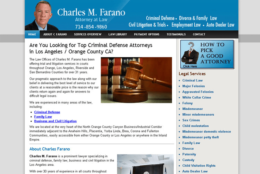 Legal, Account & Insurance - Portfolio